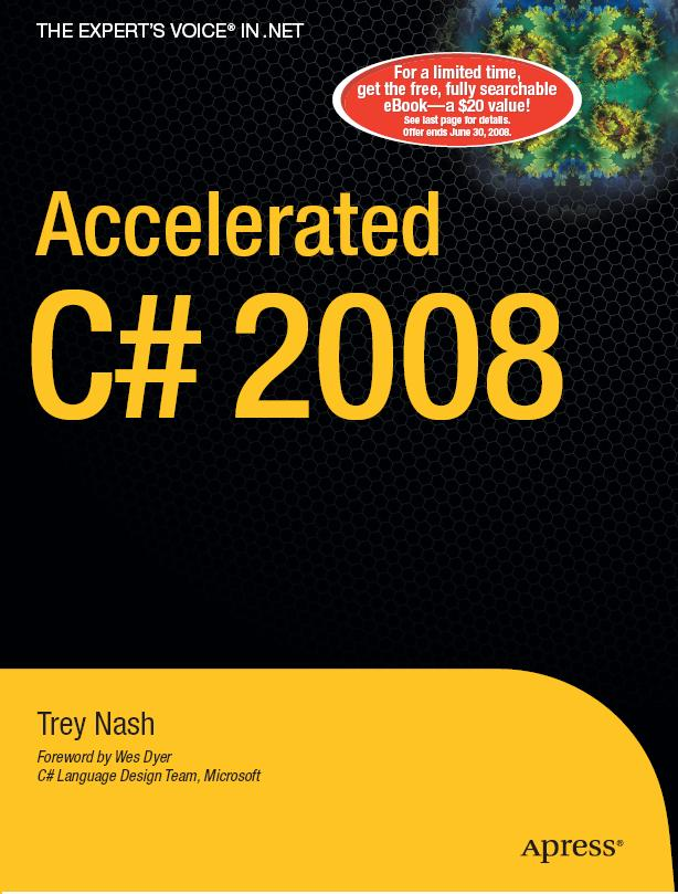 Apress - Accelerated C Sharp 2008