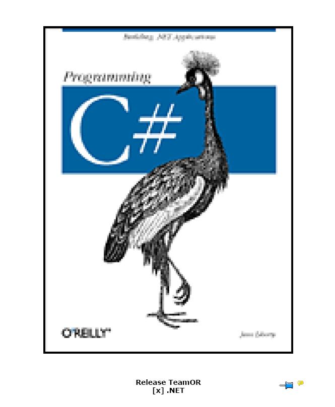 [EBOOK - EN] O'Reilly - Programming C#