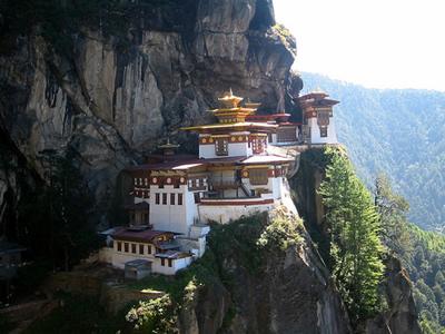 3. Tiger's Nest, Bhutan