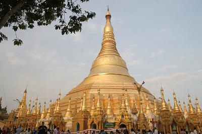 4. Shwedagon Pagoda, Myanmar