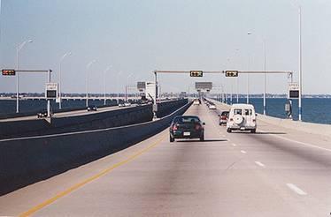 Bridge between Sweden and Denmark