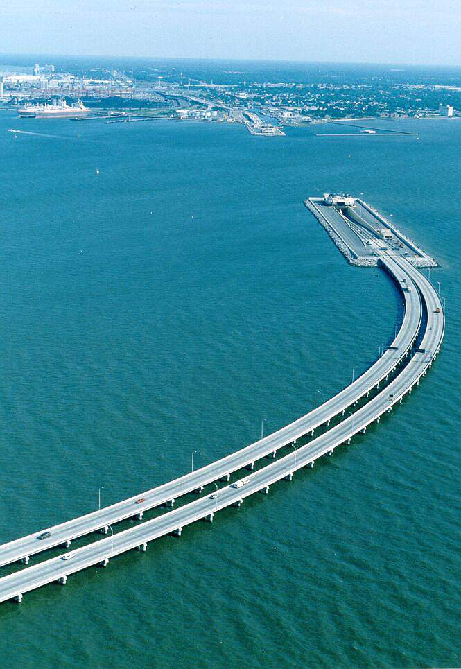 Bridge between Sweden and Denmark